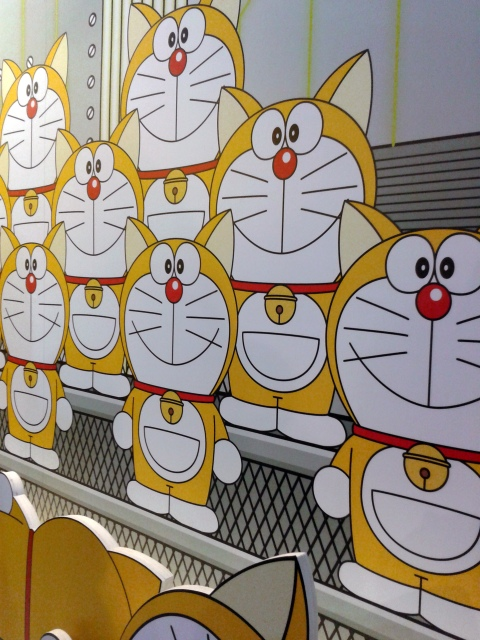 What Doraemon originally looked like fresh out of the press