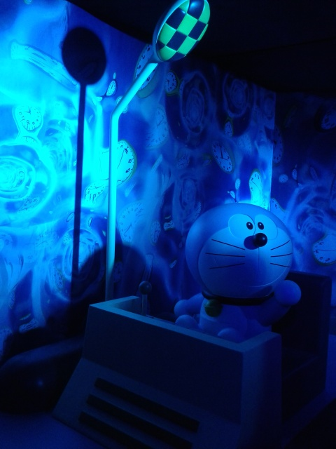 Doraemon and his time machine